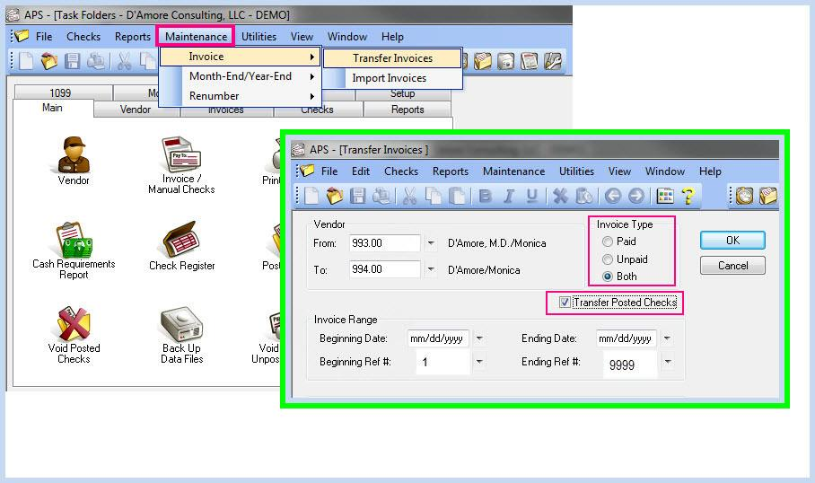 How to Merge Duplicate Vendors in Tabs3 Accounts Payable - D' Amore